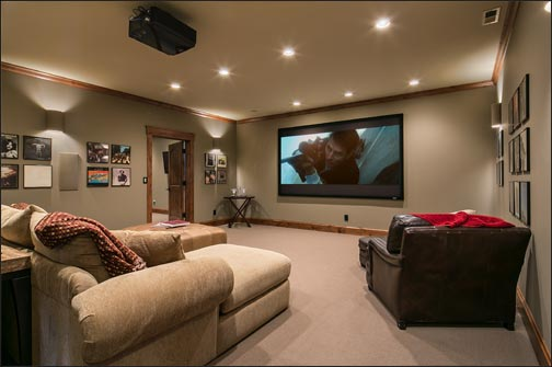 Downstairs Home Theater